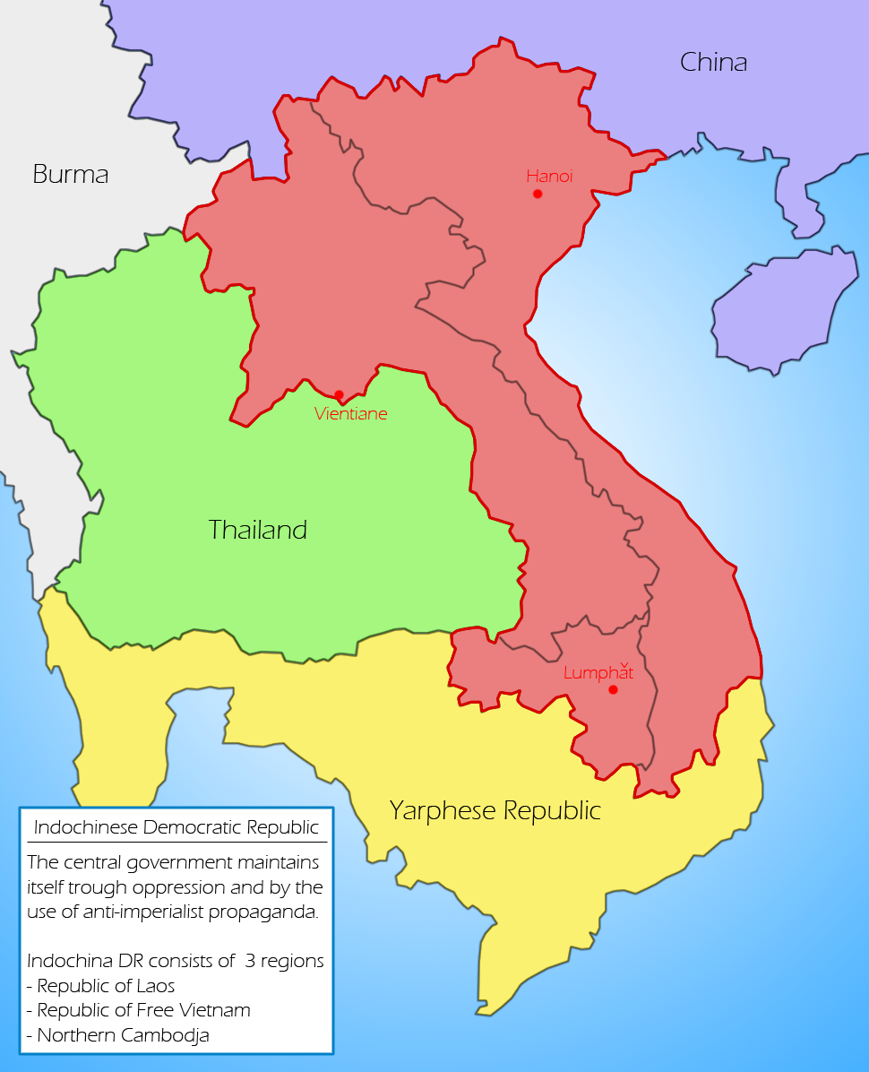 Indochinese Democratic Republic | Constructed Worlds Wiki | Fandom ...