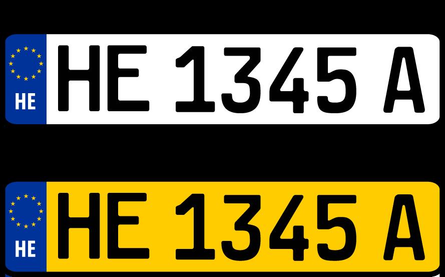 Color codes of Indian vehicle registration plates - TotalGyan |Truck Registration Plate