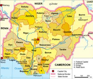 NigeriaStatesMap