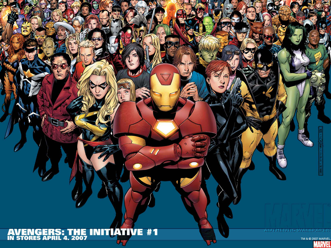 Avengers the initiative co recommended comics wiki - Avengers superhero wallpaper ...