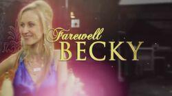 Farewell Becky