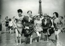 Cast in blackpool