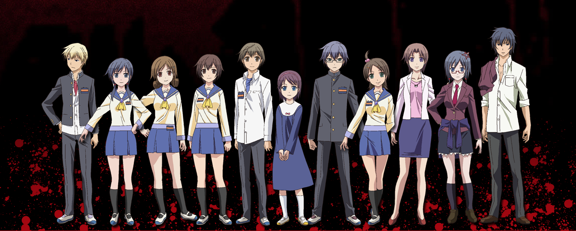 Image result for corpse party anime