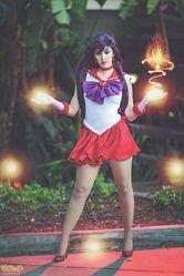 Monika Lee-Sailor Mars