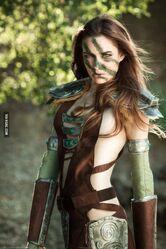 Chloe Dykstra-Aela the Huntress