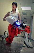 Angela Bermudez - Chell - Portal 2