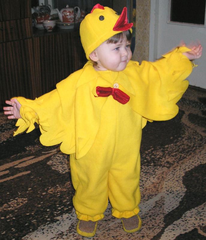 Цыплёнок своими руками сшить