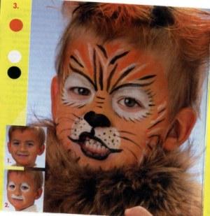 Как сделать своими руками костюм тигра