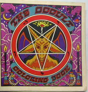 1971 The Occult Coloring Book 0912300124