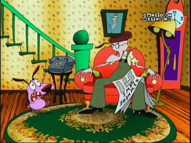 Courage the Cowardly Dog 1041 - Demon In The Mattress