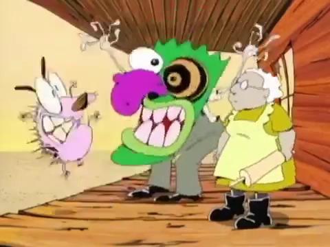 Courage The Cowardly Dog Eustace Mask