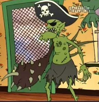 Eustace as The Prickle...