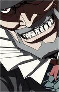 Mad Pierrot's smile
