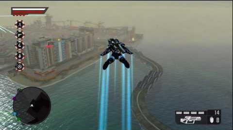 Crackdown 2 - How to use the Wingsuit