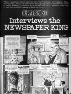 Cracked Interviews the Newspaper King