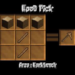 Wood pick