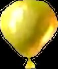Crash Bash Yellow Balloon