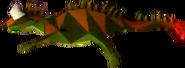 Crash Bandicoot Lizard