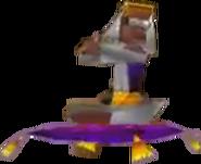 Crash Bandicoot 3 Warped Genie Lab Assistant