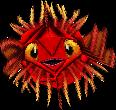 Crash Bandicoot 3 Warped Puffer Fish