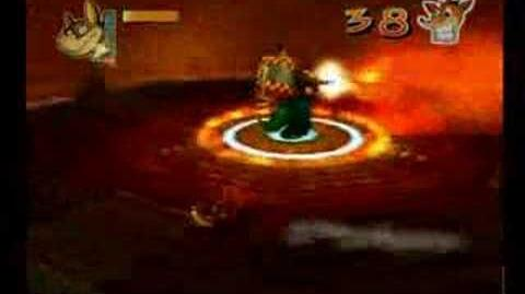 Crash Twinsanity Dingodile Boss Battle