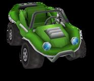 GreenTestcarRender