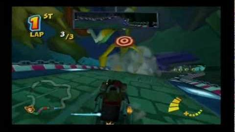 Crash Tag Team Racing - Deep Sea Driving Track