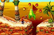 Crash Bandicoot 2 - N-Tranced crocodile