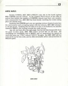 Aku Aku Full Body Page