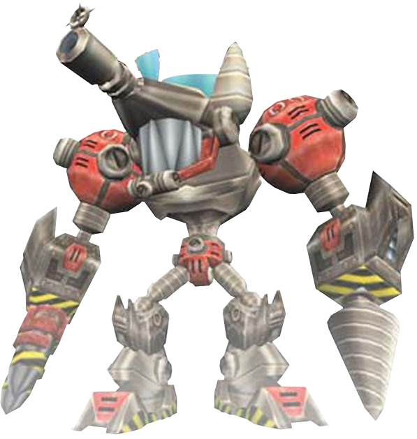 Image Mecha Bendicoot With Drill Png Bandipedia