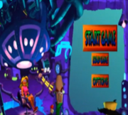 Crash bandicoot Prototype Start Screen