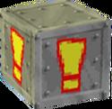 Crash Bandicoot 2 Cortex Strikes Back Iron! Crate
