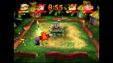 Jungle Fox - Trophy - Crash Bash - 200% Playthrough (Part 61)