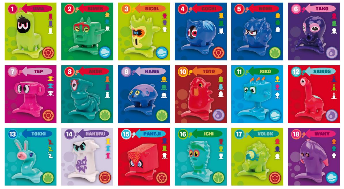 Stickers x games - Star Monsters Pocket Friends Crazy Bones Pedia Wiki