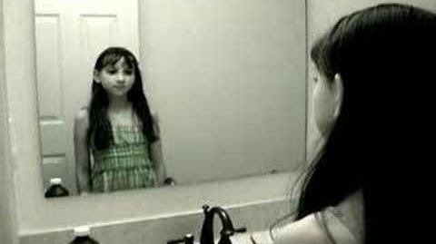 Video - Creepy Grudge Ghost Girl in the Mirror ...