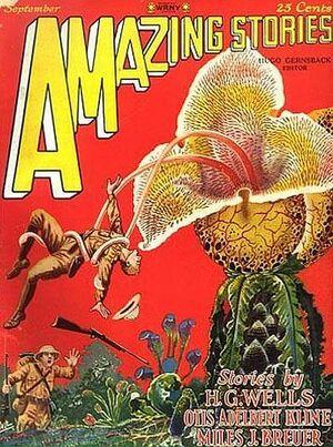 Amazing Stories September 1927 Hugo Gernsback Frank R Paul