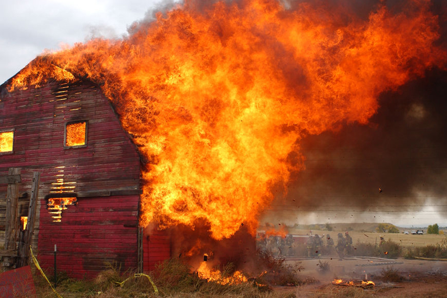 burning barn story Barn burning, in its employment of jamesian point of view as confined to sarty's consciousness, requires detailed analysis of its narrative structure, its language, and the consequent effects on the reader.