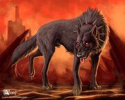 Hell hound by azany-d58f65o-1-