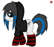 X my little emo x by circuscannibal-d45l7rr