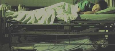 Body under bed