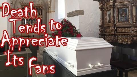 Death Tends to Appreciate Its Fans by ViviHunter - Creepypasta