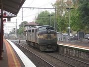 Melbourme 8 - scary train