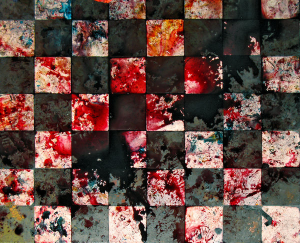 Bloody chessboard by wojtar stock