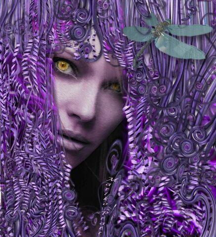 File:Purple Goth Gorgon by mmpratt99.jpg