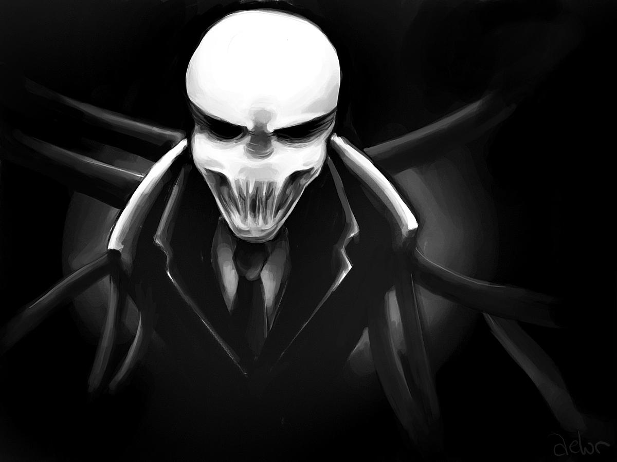 image slenderman by aelurjpg creepypasta wiki