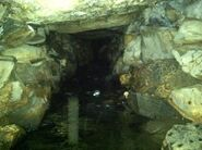 Better shot of the cave
