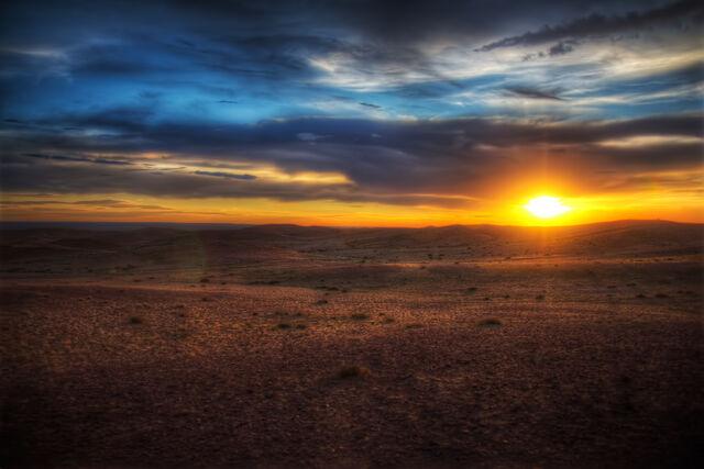 File:Gobi-Desert-Sunset.jpg