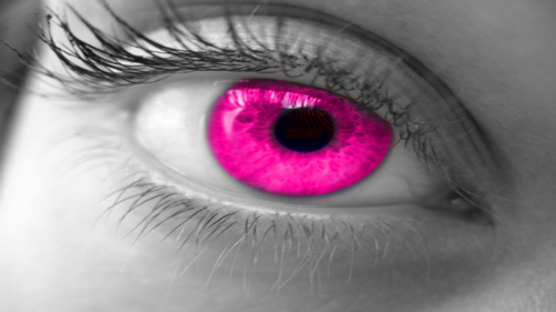 File:Girl with pink eyes.jpg