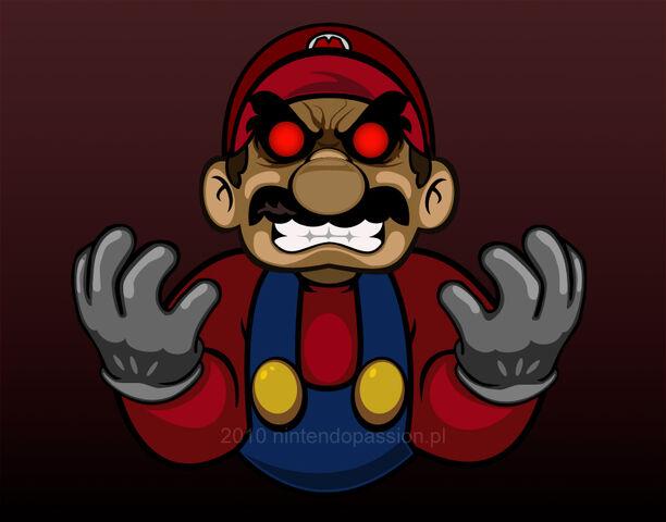 File:Evil Mario by GameScanner.jpg