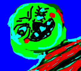 Pie Face Man